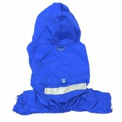Al1 Дождевик для маленьких собак, синий, размер М