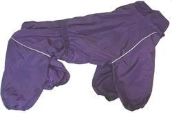 ZooTrend Дождевик для крупных пород собак, баклажан, размер 7XL, спина 80см