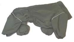 ZooTrend Дождевик для средних пород собак, болотный, размер 3XL, спина 47см
