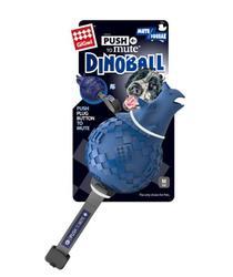 GiGwi Игрушка для собак Dinoball Динозавр с отключаемой пищалкой