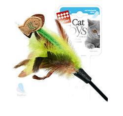 GiGwi Игрушка для кошек Дразнилка с рыбками на длинной палке, 75см