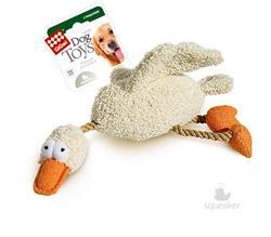 GiGwi Игрушка для собак Утка с пищалкой, 36см