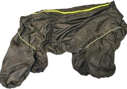 LifeDog Дождевик для больших пород собак, шоколад, размер 7XL, спина 75-85см