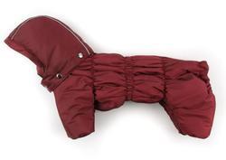 ZooPrestige Комбинезон для собак Дутик, бордо, размер L, флис