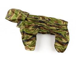 ZooPrestige Дождевик для средних пород собак Дутик, камуфляж, размер 2XL