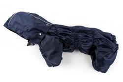 ZooPrestige Дождевик для собак Дутик, синий, размер XL, спина 36-40см