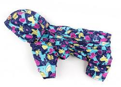 ZooPrestige Дождевик для собак Дутик, карамель, размер S, спина 22-26см