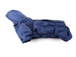 ZooPrestige Комбинезон на флисе для таксы, синий, размер ТБ1