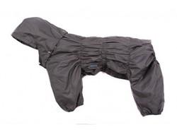 ZooAvtoritet Комбинезон теплый Дутик, серый, размер 3XL, синтепон, спина 45-48см