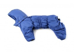 ZooPrestige Комбинезон утепленный Дутик, синий, размер 3XL, синтепон, спина 46-50см