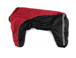 ZooPrestige Комбинезон утепленный черно/красный, размер 8XL, спина 75см, синтепон