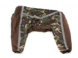 ZooPrestige Комбинезон для крупных собак, камуфляж зеленый/коричневый, размер 6XL, спина 65см