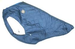 SportDog Куртка-попона меховая для крупных собак, синяя, спина 58см