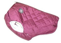 SportDog Куртка-попона меховая для французского бульдога, бордо, спина 40см