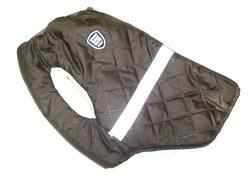 SportDog Куртка-попона меховая для мопса, коричневая, спина 35см