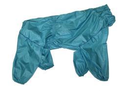 LifeDog Дождевик для больших пород собак, морская волна, размер 4XL, спина 55см