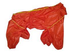 LifeDog Дождевик для больших пород собак, оранжевый, размер 4XL, спина 55см