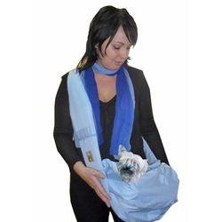 Пелигрин Слинг для собак голубой из плащевой ткани