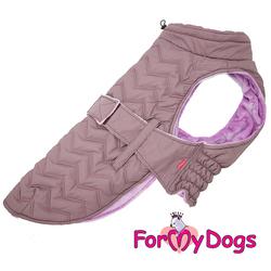 ForMyDogs Попона для крупных собак сиреневая, размер С3