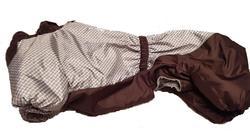 SportDog Комбинезон для таксы, теплый, на меху, коричневый, модель для мальчиков