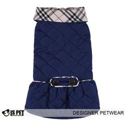 I's Pet Пальто для маленьких собак синее, размер М