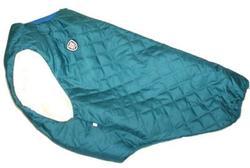 SportDog Куртка-попона меховая для крупных собак, морская волна, спина 65см
