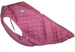 SportDog Куртка-попона меховая, бордовая, спина 40см