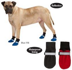 АНТ Ботиночки-носочки для крупных собак, р.XS, S, флисовые