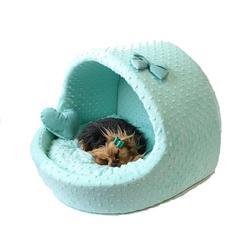 "LuxDog Мягкий домик для собак Эстрада ""Минт"", размер 45х50х40см"