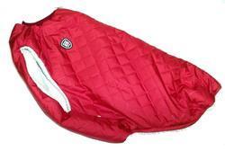 SportDog Куртка-попона меховая для крупных собак, красная, спина 65см