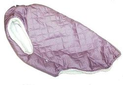 SportDog Куртка-попона меховая для крупных собак, сирень/мозаика, спина 65см