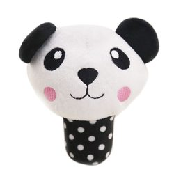 Al1 Игрушка для собак мягкая Панда 13см