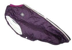 SportDog Куртка-попона меховая для крупных собак, баклажан, спина 58см