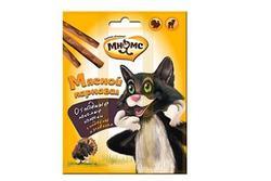 МНЯМС Мясной карнавал Лакомые палочки для кошек (индейка, ягненок) 3х4 г