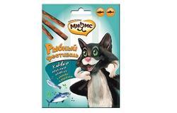 МНЯМС Рыбный фестиваль Лакомые палочки для кошек (лосось, форель) 3х4 г