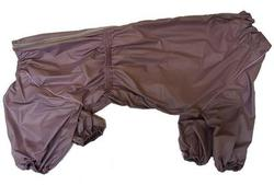 ZooTrend Комбинезон для больших пород собак, серо-сиреневый, размер 7XL, спина 80см