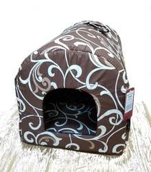 DOGMAN Тоннель для такс, коричневый, бязь, размер 58х36х36см.