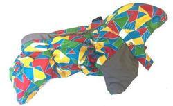ZooPrestige Комбинезон для французского бульдога, мульти цвет, размер ФР-1, спина 40см