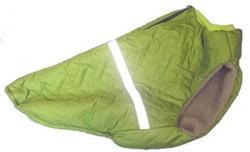 SportDog Куртка-попона меховая для крупных собак, салатовая, спина 65см