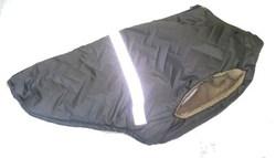 SportDog Куртка-попона меховая для крупных собак, серая, спина 65см