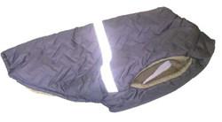 SportDog Куртка-попона меховая для собак, темно-сиреневая, спина 53см