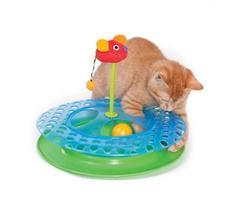 """Petstages Игрушка для кошек Трек """"2 мячика II"""""""