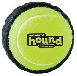 Petstages Игрушка для собак Теннисный мячик с шиной