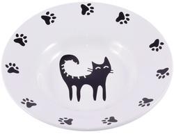 КерамикАрт Миска керамическая-блюдце для кошек 140 мл