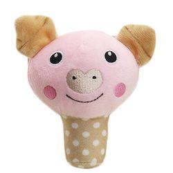 Al1 Игрушка для собак мягкая Свинка 12см