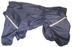 LifeDog Дождевик для больших пород собак, темно/синий, размер 7XL, спина 75-85см