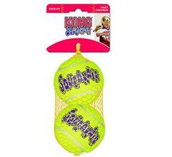 Kong Игрушка для собак Air Теннисный мяч большой (в упаковке 2 шт.), 8 см