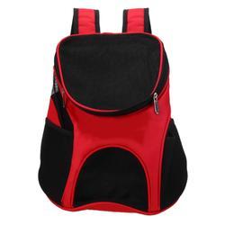 Al1 Рюкзак для собак красный, размер 33 x 30 x 24см