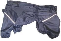 LifeDog Дождевик для больших пород собак, темно/синий, размер 6XL, спина 66см