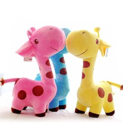 Al1 Игрушка для собак плюшевая Жираф 17см